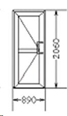 Входная дверь (код 37)
