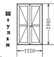 Входная дверь (код 44)