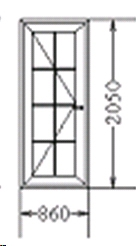 Входная дверь (код 48)